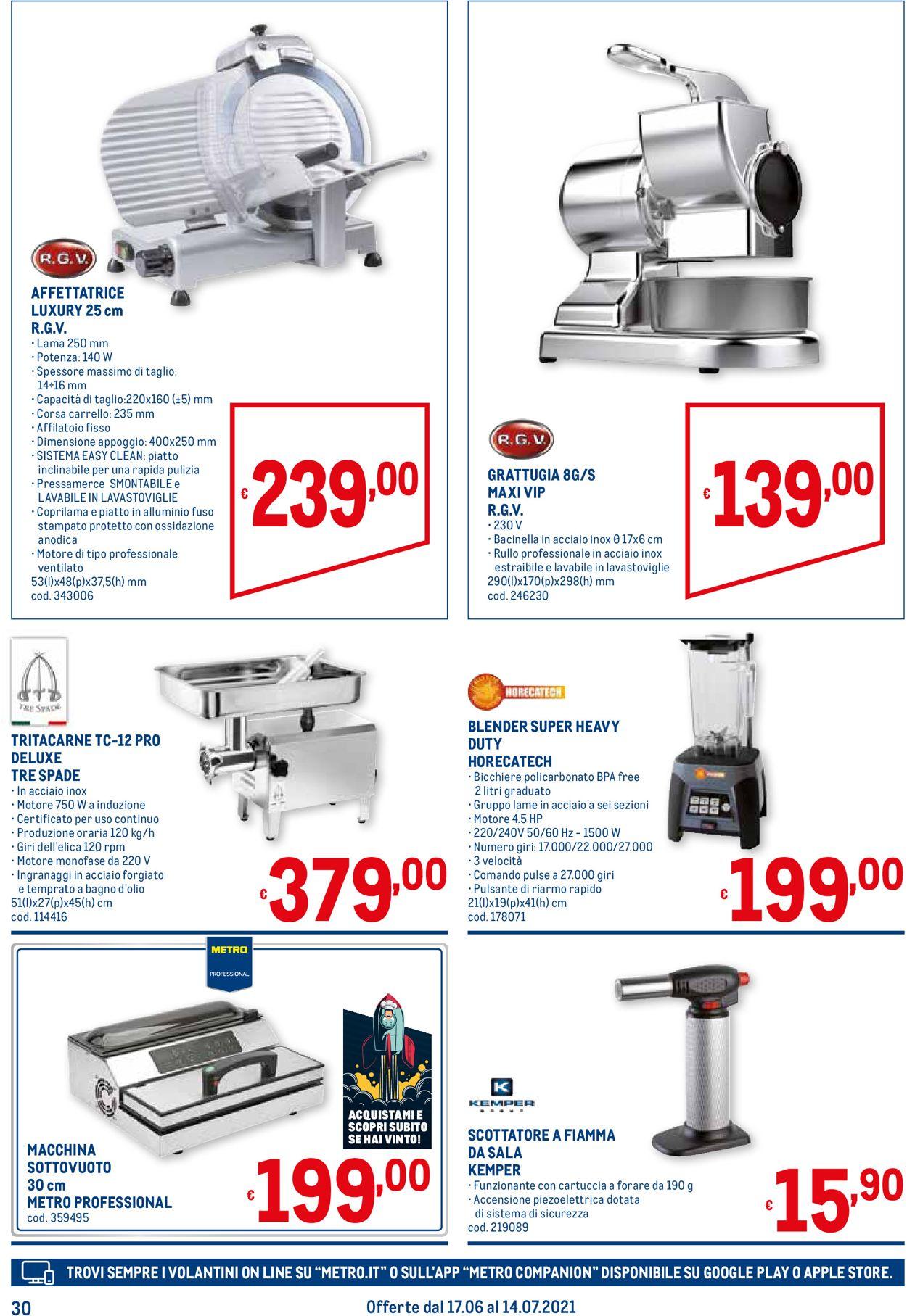 Volantino Metro - Offerte 17/06-14/07/2021 (Pagina 30)