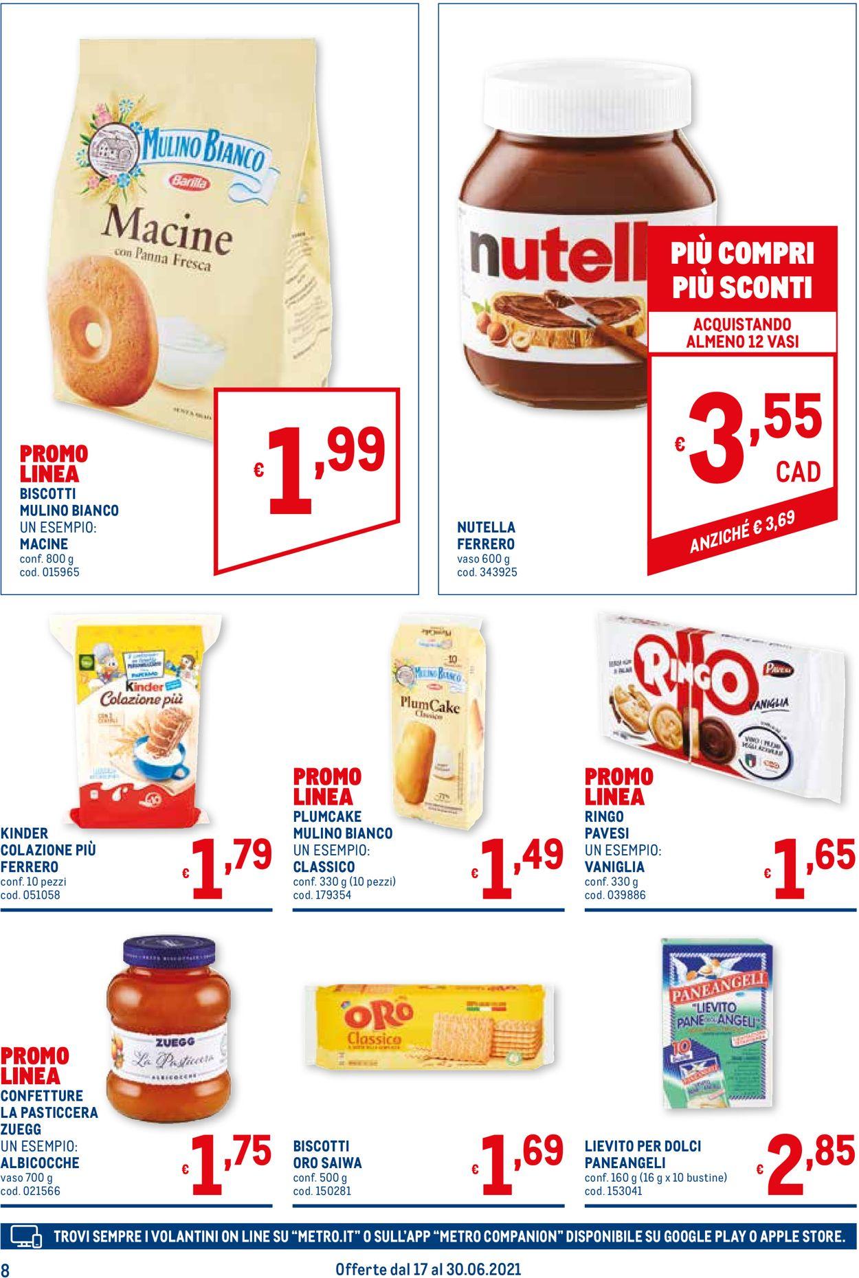 Volantino Metro - Offerte 17/06-30/06/2021 (Pagina 8)