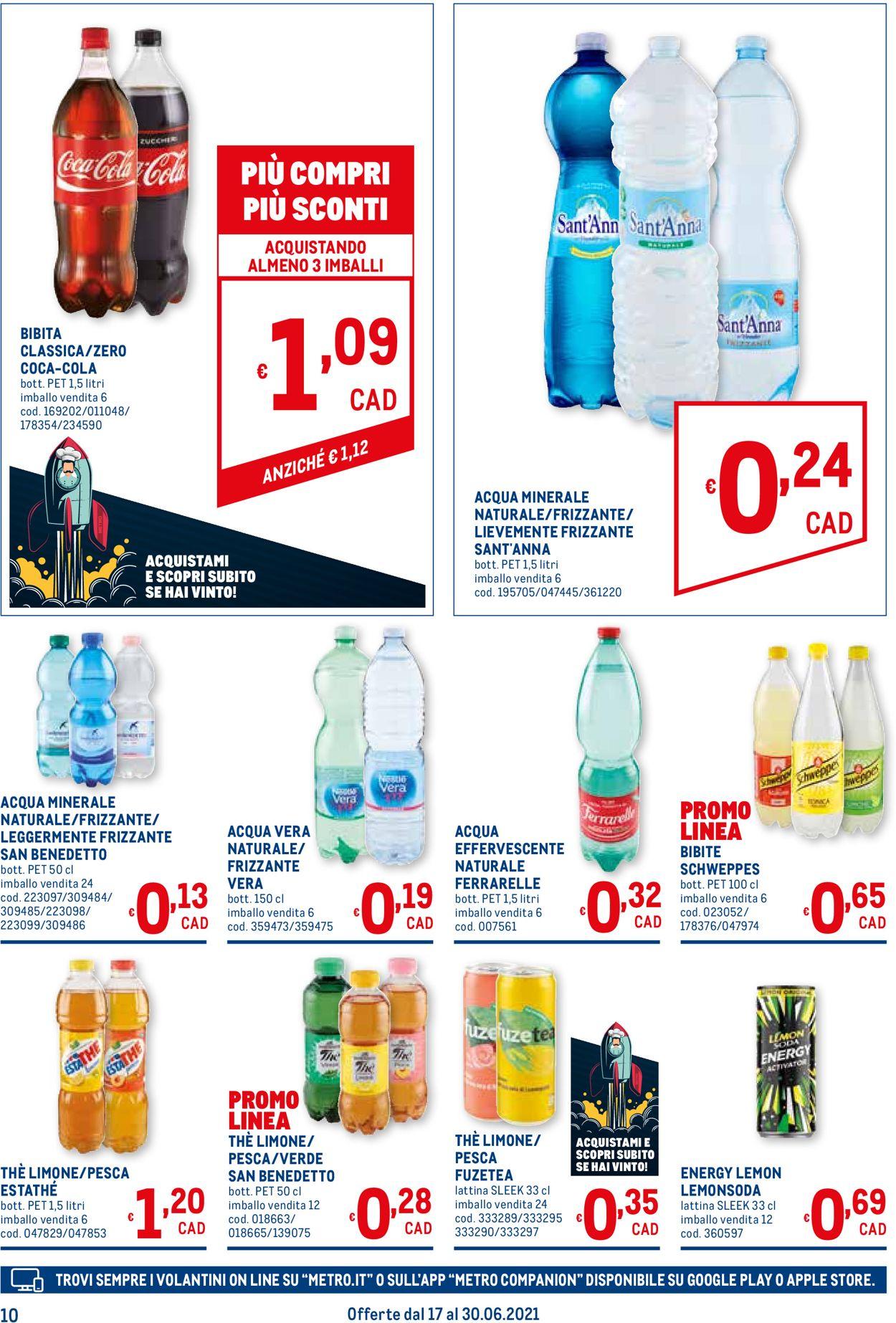 Volantino Metro - Offerte 17/06-30/06/2021 (Pagina 10)