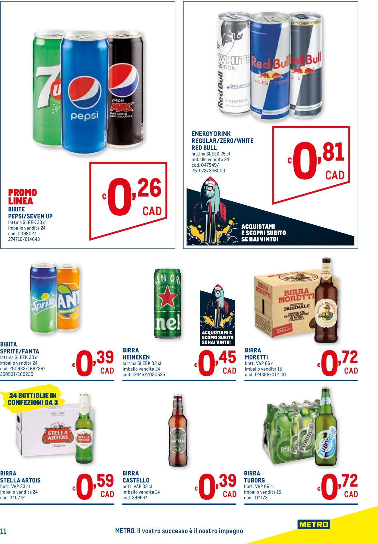 Volantino Metro - Offerte 17/06-30/06/2021 (Pagina 11)