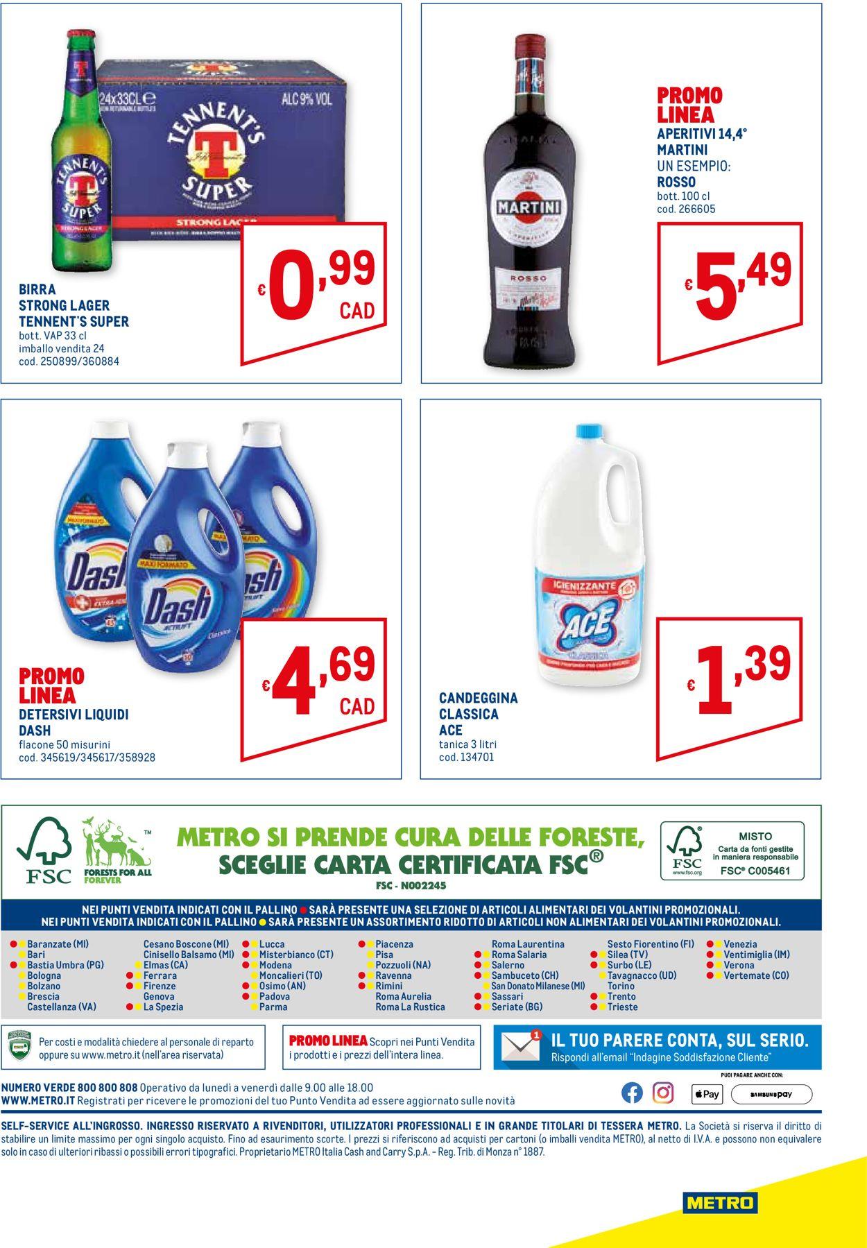 Volantino Metro - Offerte 17/06-30/06/2021 (Pagina 28)