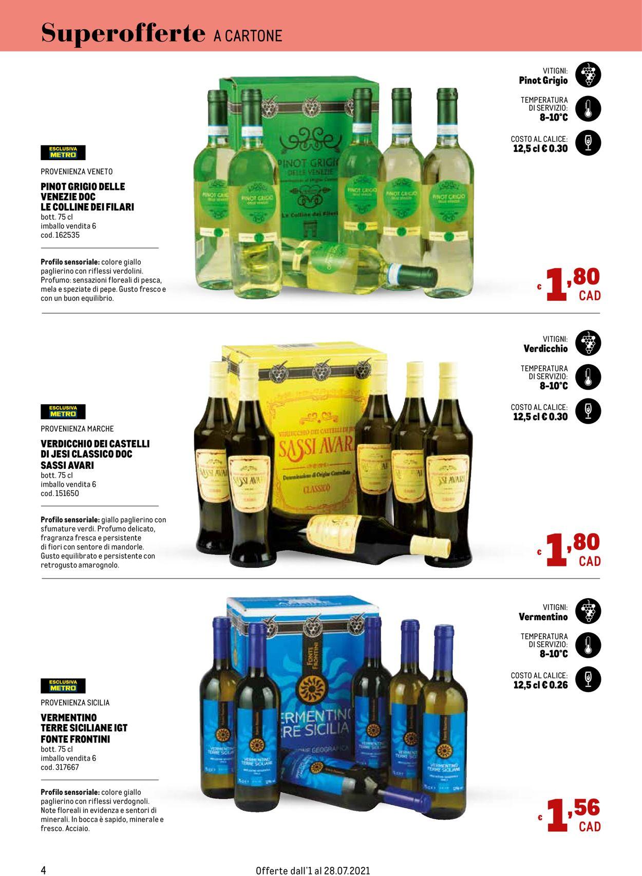 Volantino Metro - Offerte 01/07-28/07/2021 (Pagina 4)