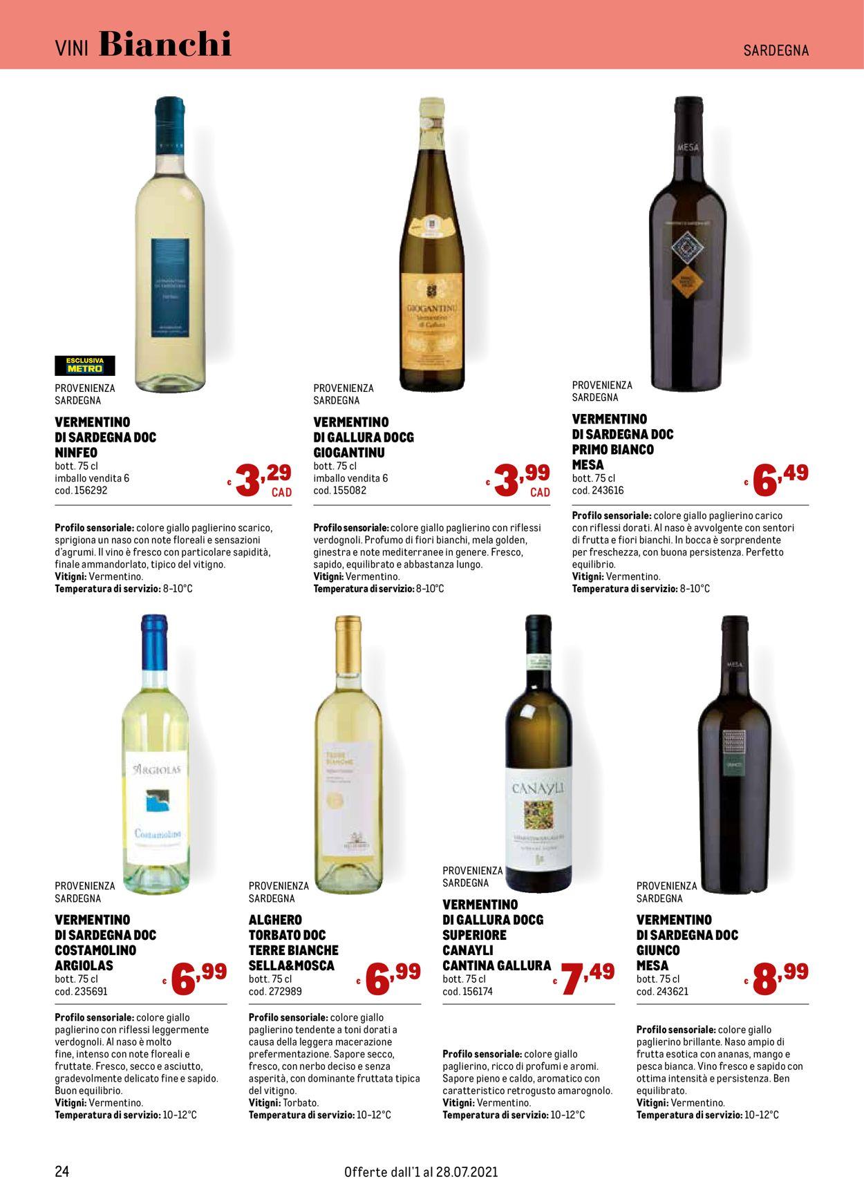 Volantino Metro - Offerte 01/07-28/07/2021 (Pagina 24)