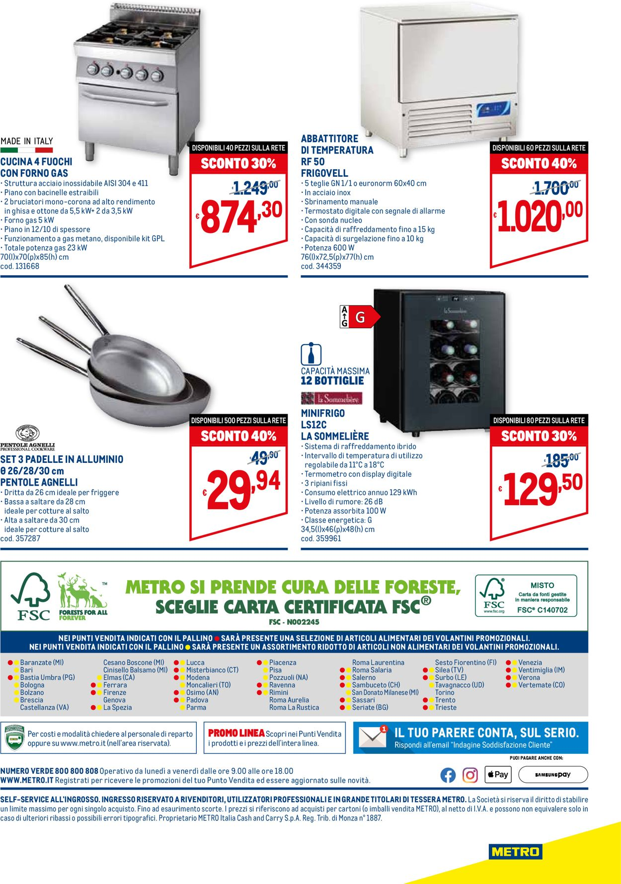 Volantino Metro - Offerte 01/07-28/07/2021 (Pagina 8)