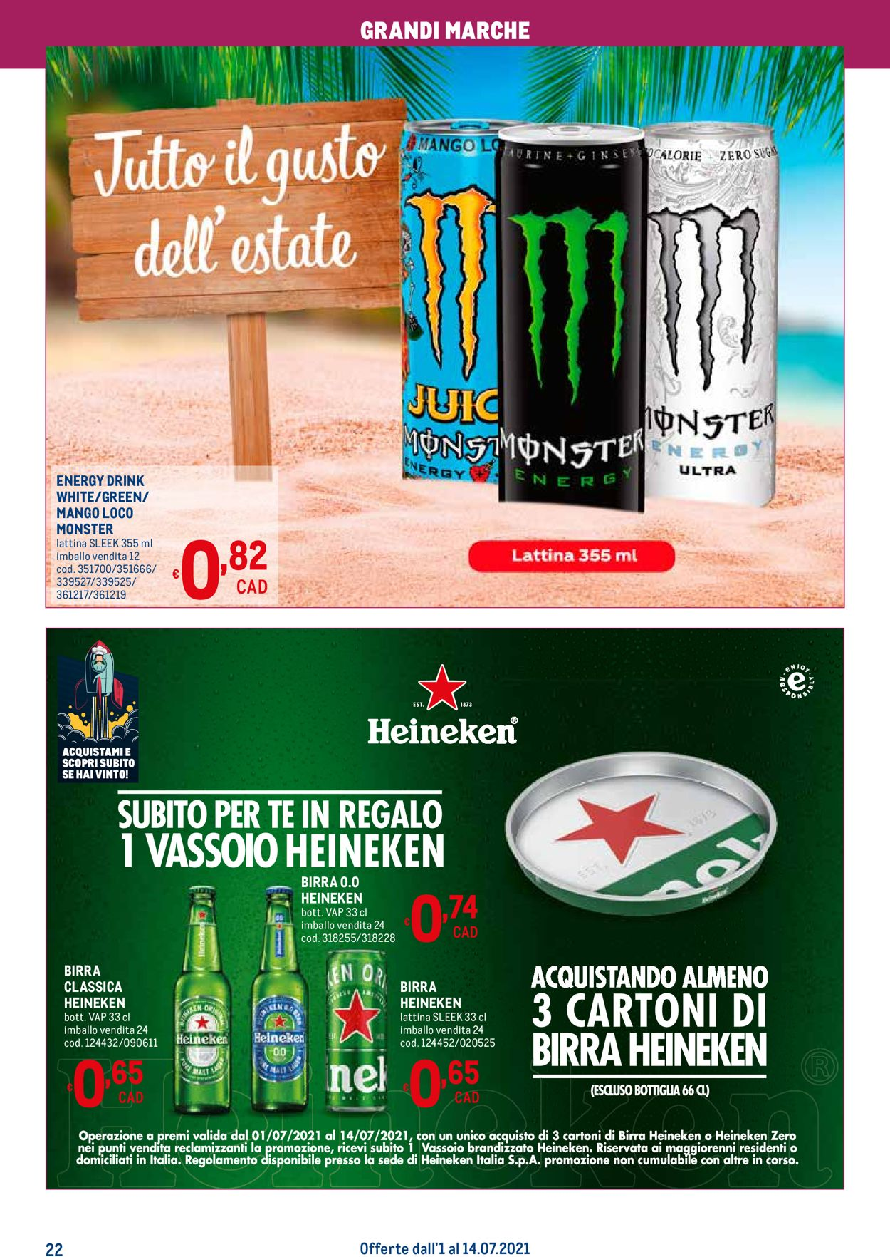 Volantino Metro - Offerte 01/07-14/07/2021 (Pagina 22)