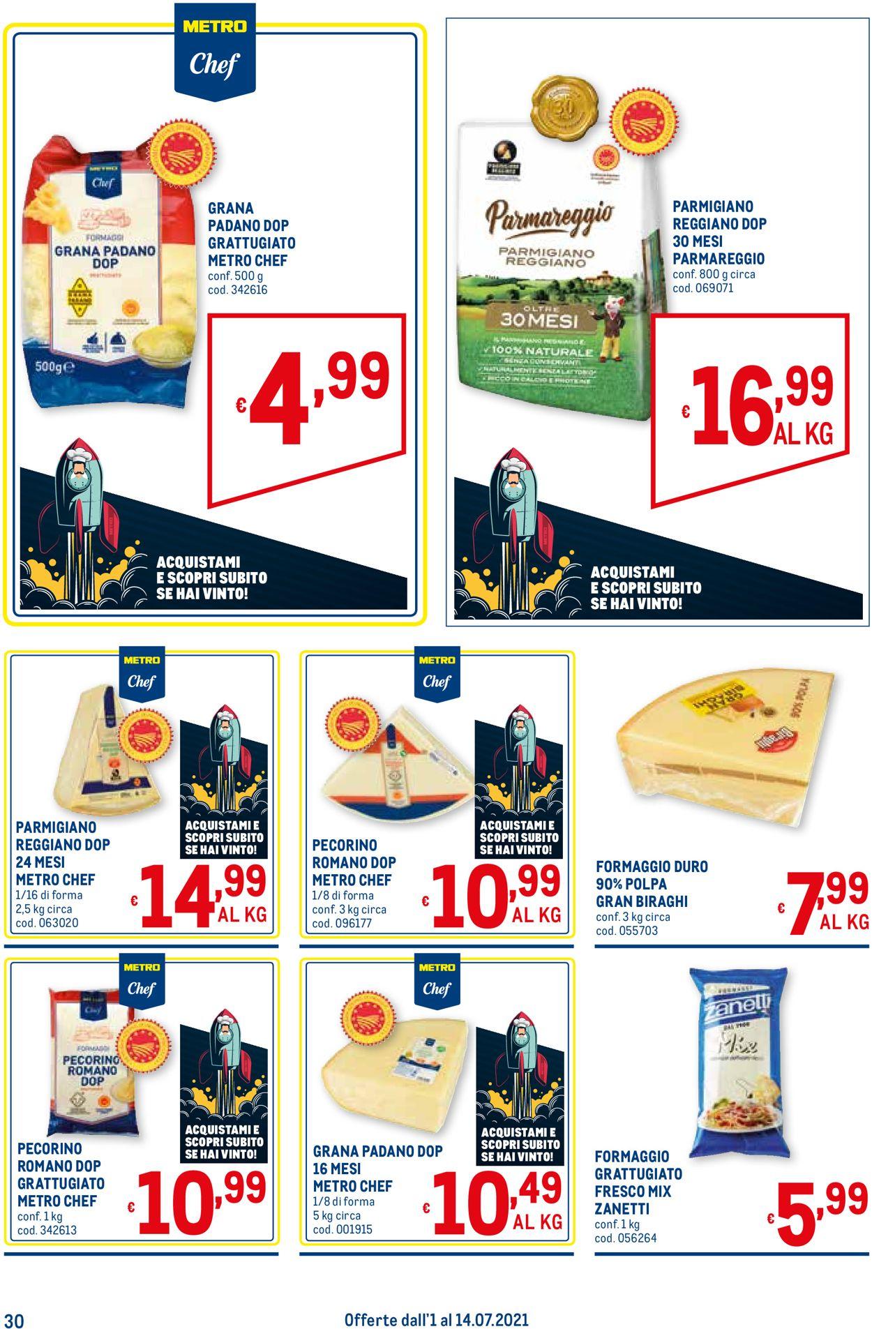 Volantino Metro - Offerte 01/07-14/07/2021 (Pagina 30)