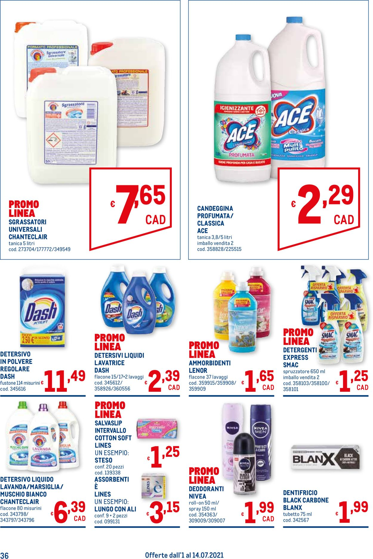 Volantino Metro - Offerte 01/07-14/07/2021 (Pagina 36)