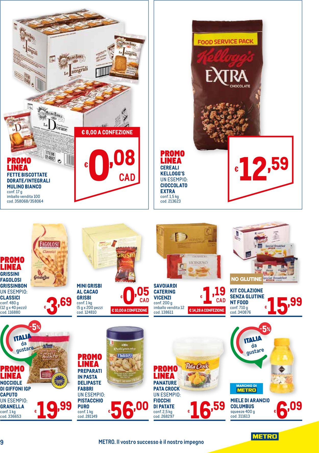Volantino Metro - Offerte 15/07-01/09/2021 (Pagina 9)