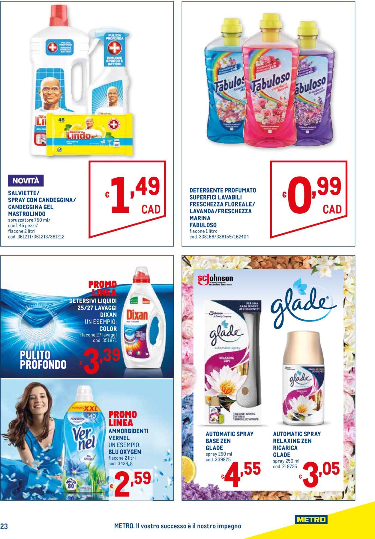 Volantino Metro - Offerte 15/07-28/07/2021 (Pagina 23)