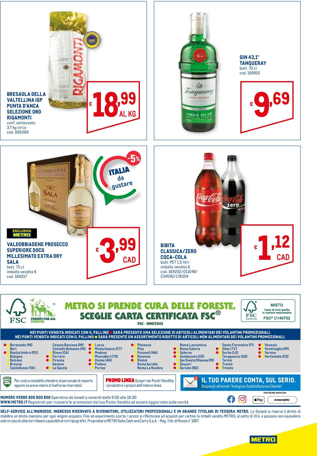 Volantino Metro - Offerte 15/07-28/07/2021 (Pagina 28)