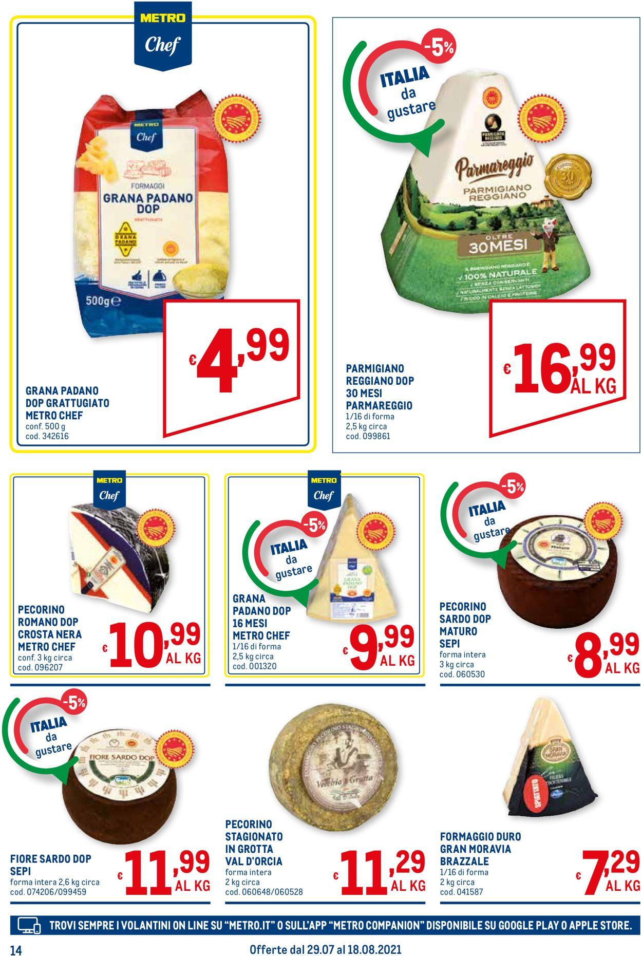 Volantino Metro - Offerte 29/07-18/08/2021 (Pagina 14)