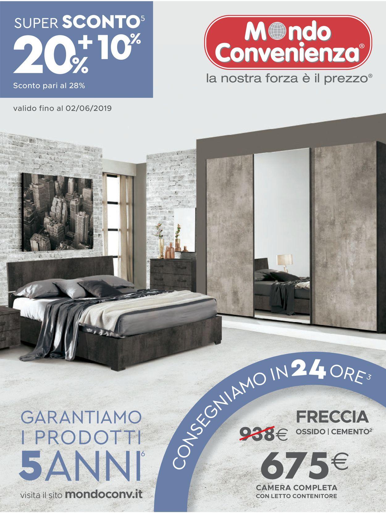 Volantino Mondo Convenienza - Offerte 02/04-02/06/2019