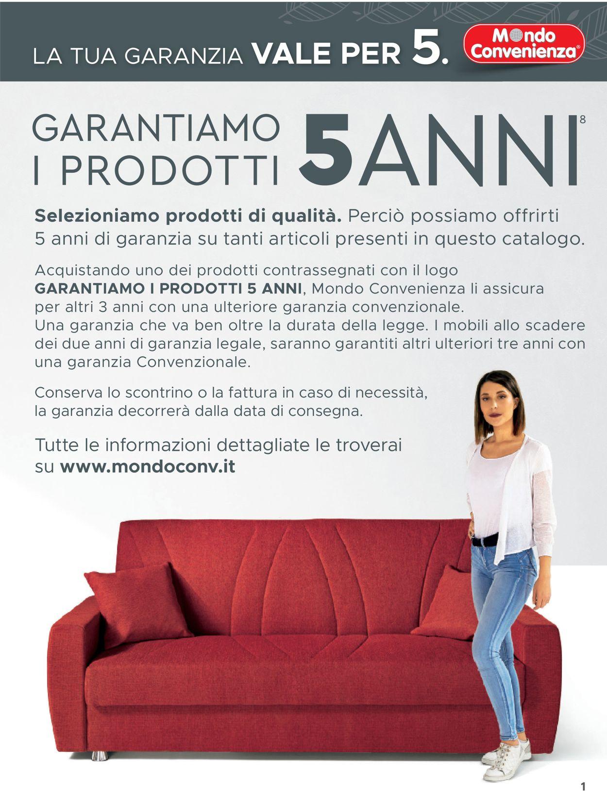 Volantino Mondo Convenienza - Offerte 01/09-08/12/2019 (Pagina 3)