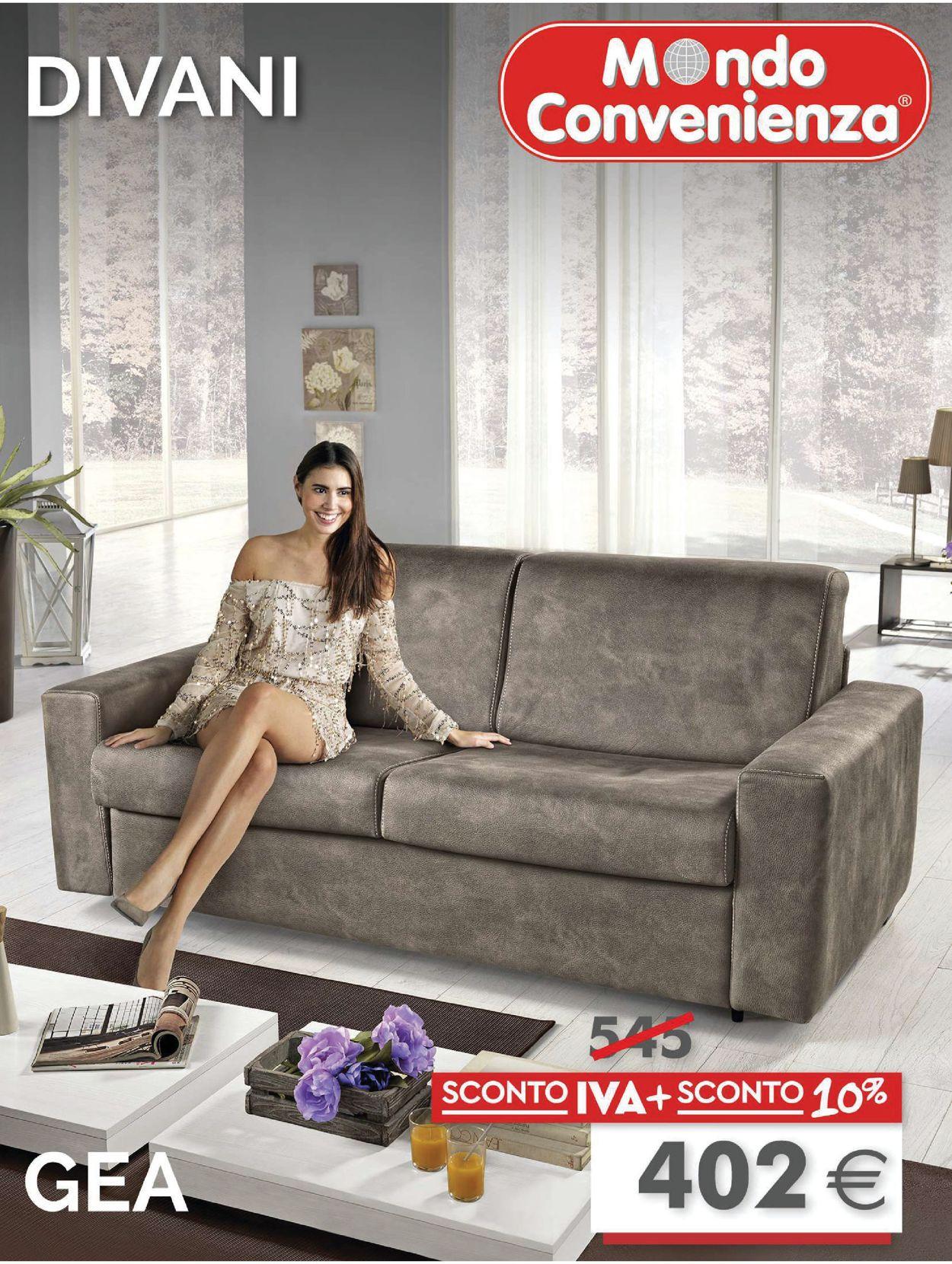 Volantino Mondo Convenienza - Offerte 01/09-08/12/2019