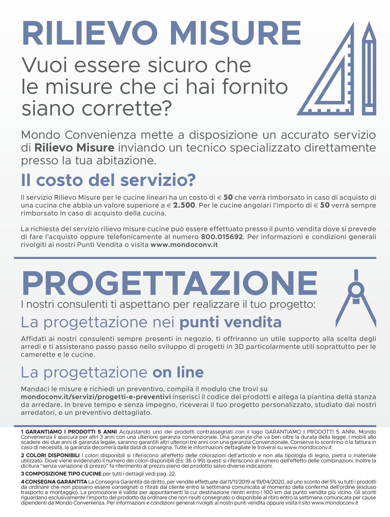 Volantino Mondo Convenienza - Offerte 11/11-19/04/2020 (Pagina 3)