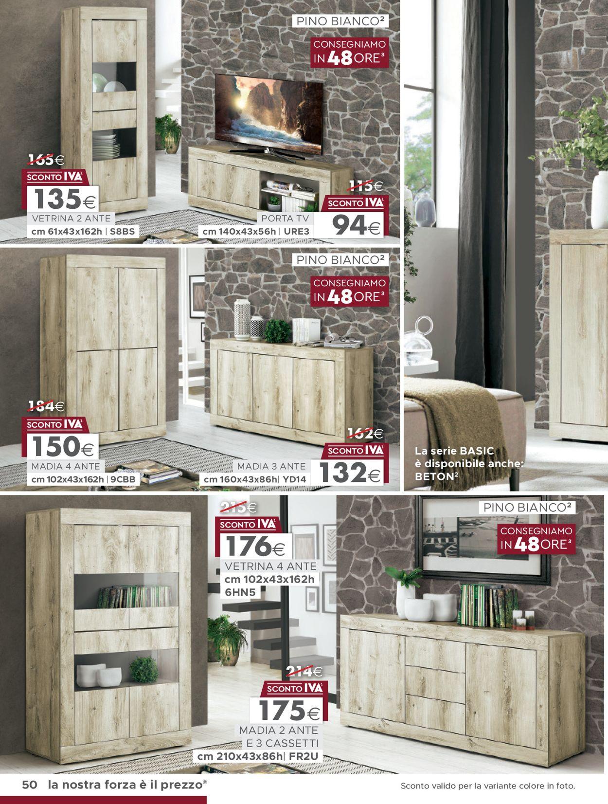 Volantino Mondo Convenienza - Offerte 13/01-16/06/2020 (Pagina 2)