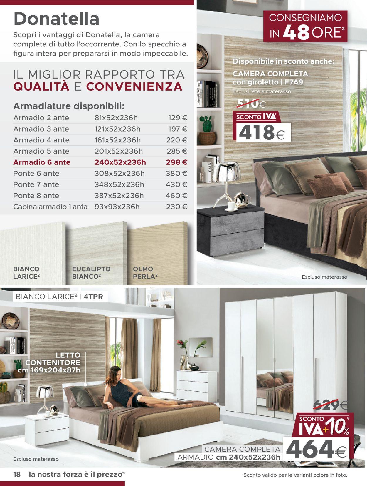 Volantino Mondo Convenienza - Offerte 13/01-30/04/2020 (Pagina 2)