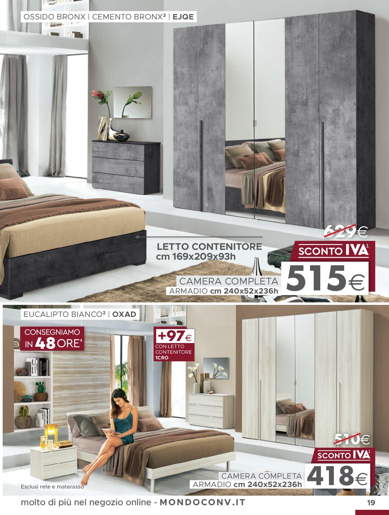 Volantino Mondo Convenienza - Offerte 13/01-30/04/2020 (Pagina 3)