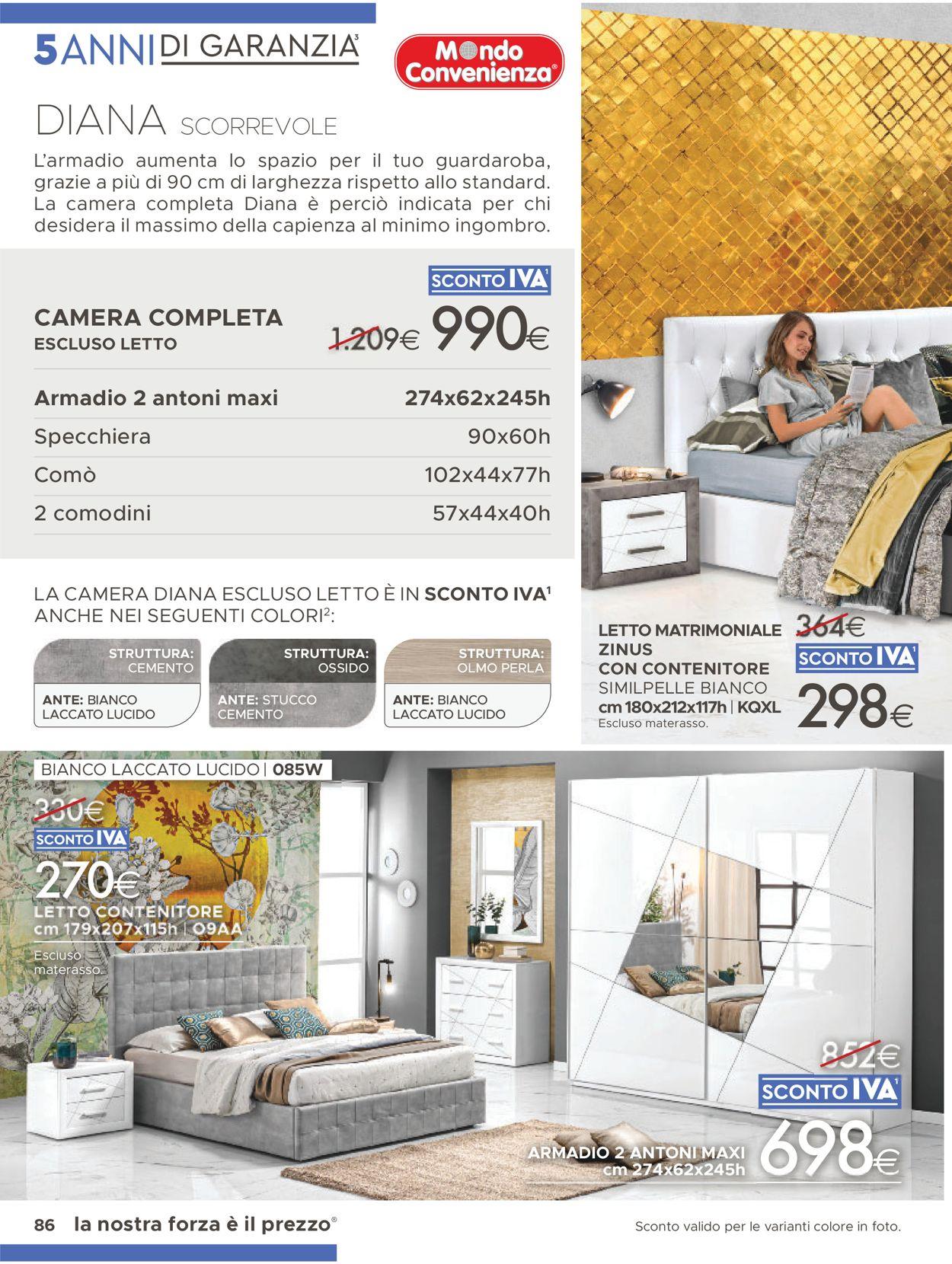 Volantino Mondo Convenienza - Offerte 01/06-31/08/2021 (Pagina 34)