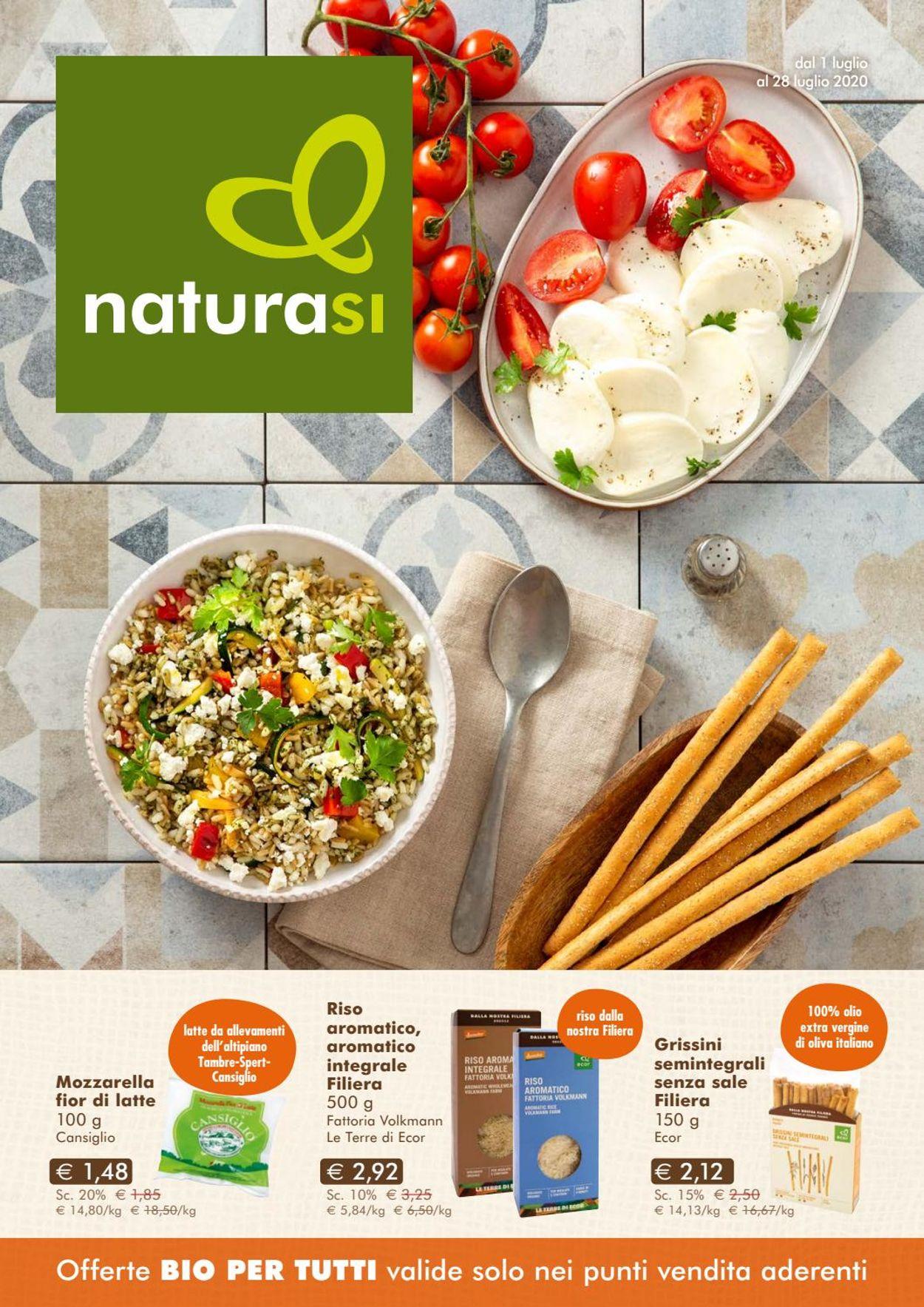 Volantino Natura Sì - Offerte 01/07-28/07/2020