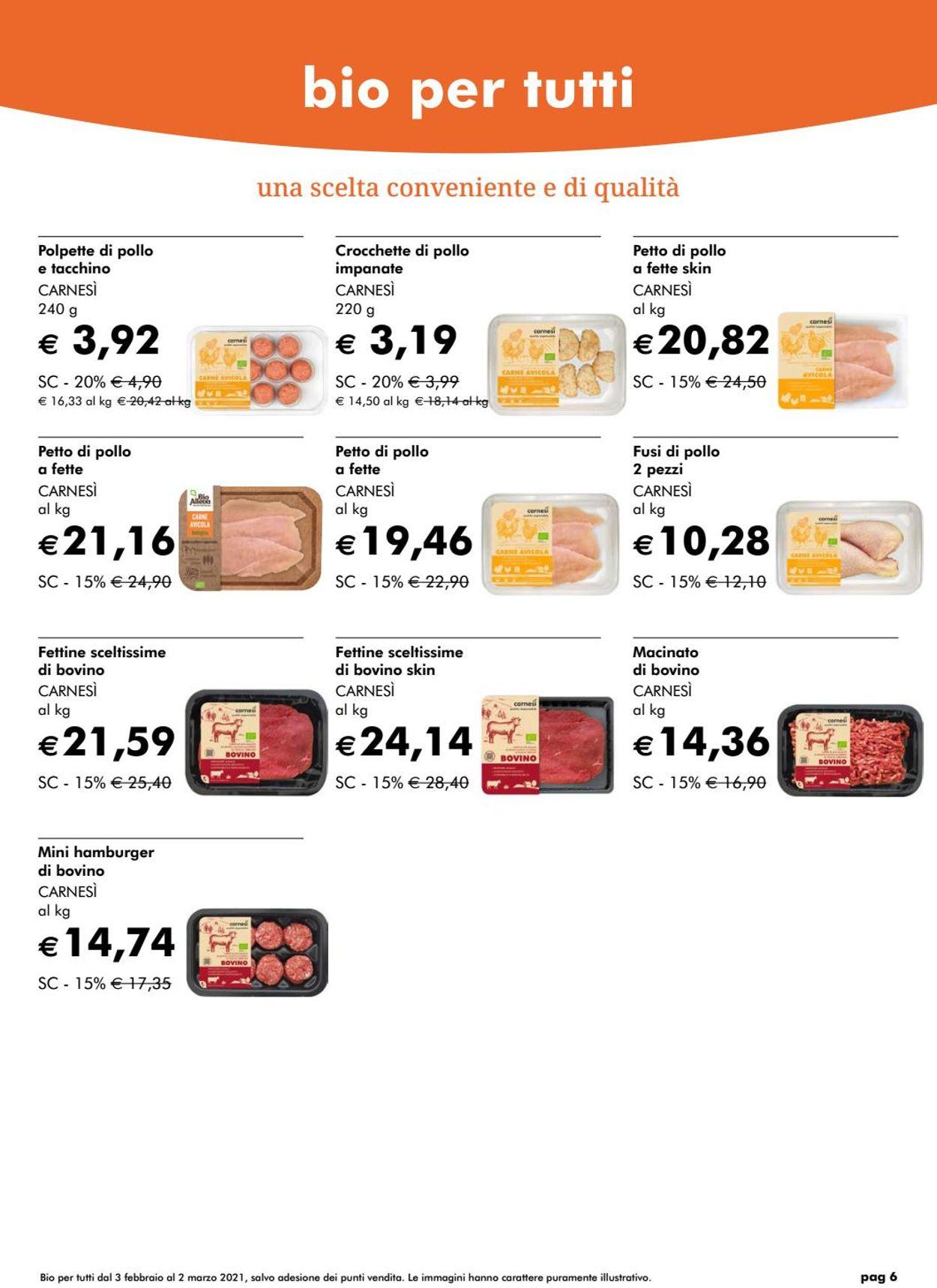 Volantino Natura Sì - Offerte 04/02-02/03/2021 (Pagina 6)