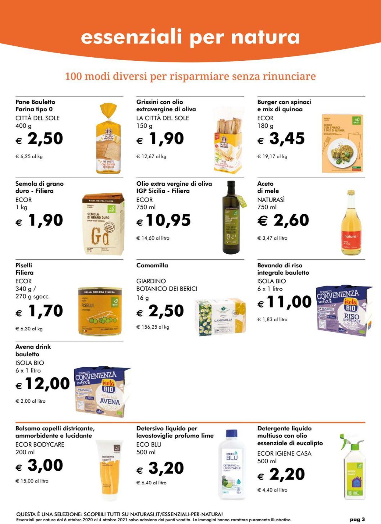 Volantino Natura Sì - Offerte 03/03-31/03/2021 (Pagina 3)