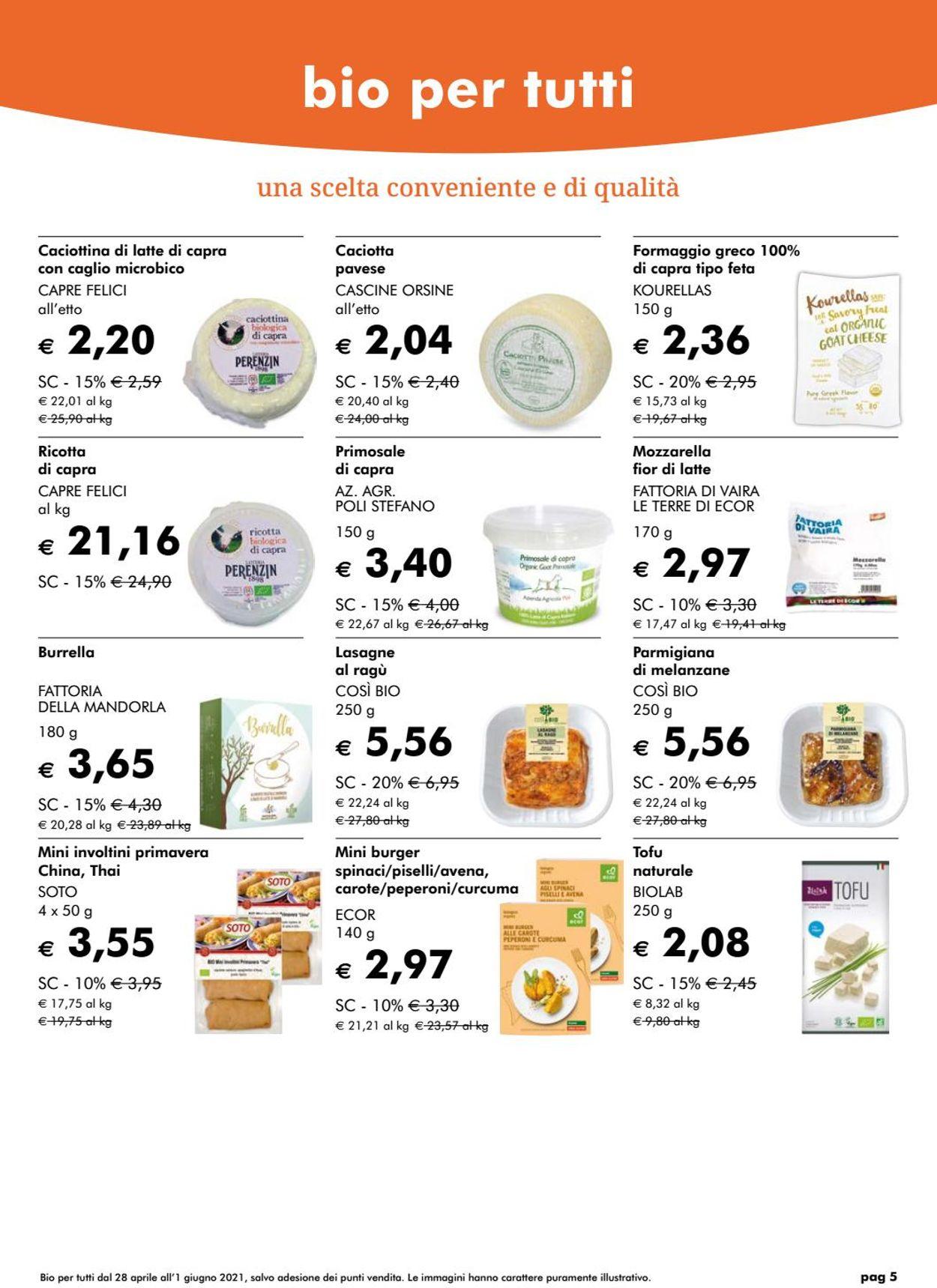 Volantino Natura Sì - Offerte 28/04-01/06/2021 (Pagina 5)