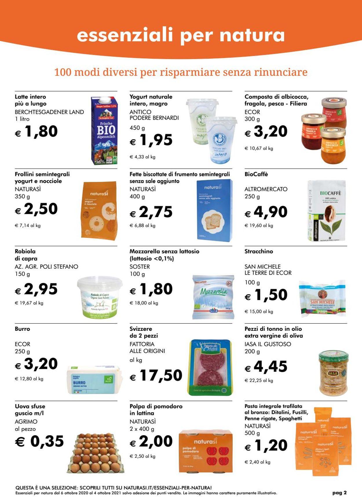 Volantino Natura Sì - Offerte 28/06-26/07/2021 (Pagina 2)