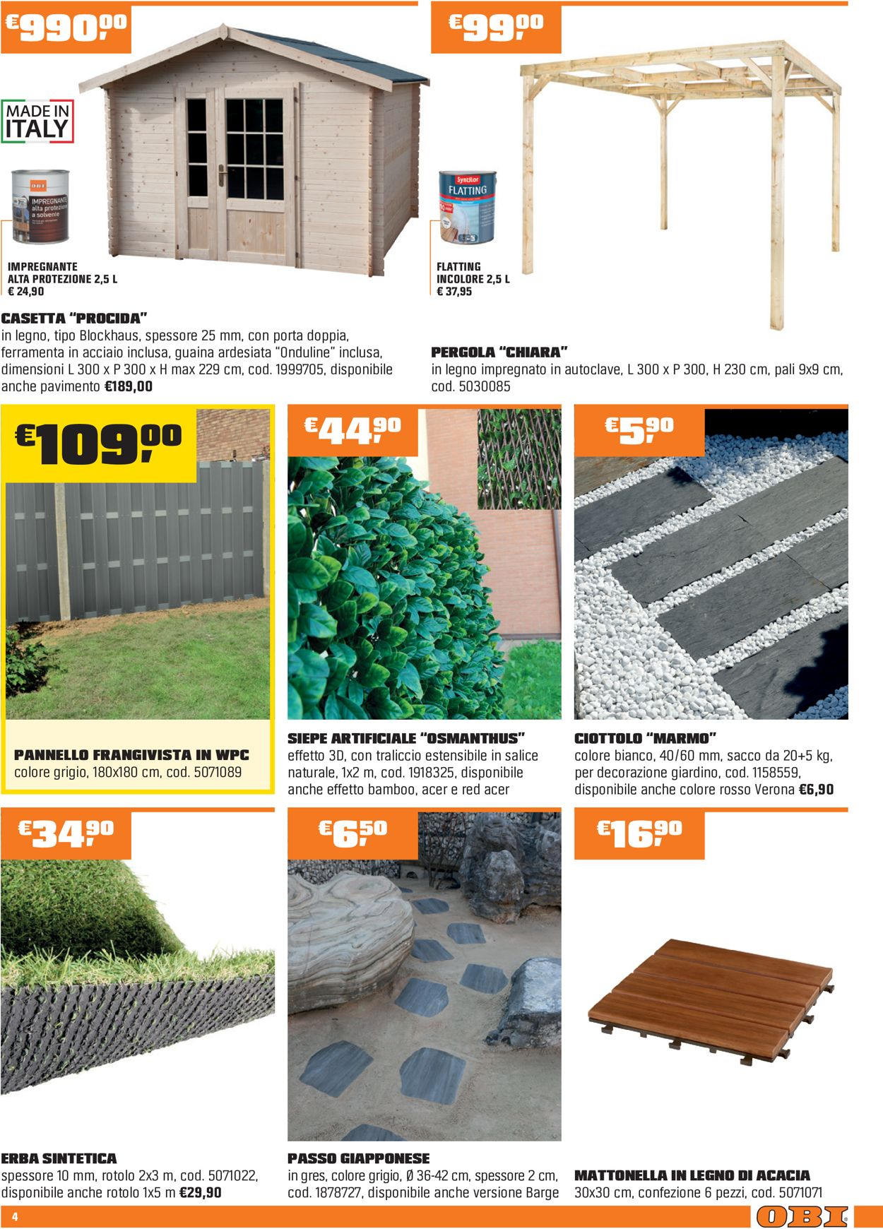 Volantino OBI - Offerte 04/03-21/03/2021 (Pagina 4)