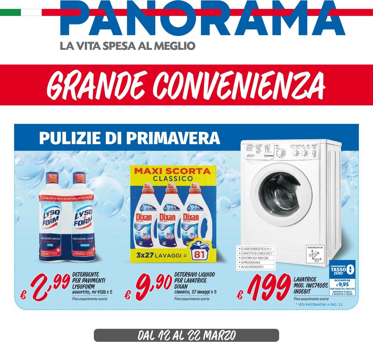 Volantino Pam Panorama - Offerte 12/03-22/03/2020