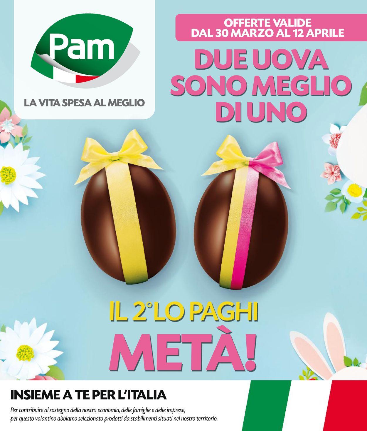 Volantino Pam Panorama - Offerte 30/03-12/04/2020