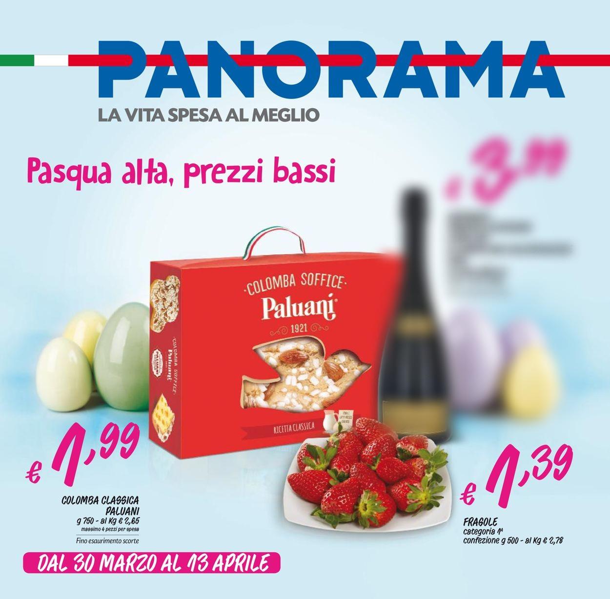 Volantino Pam Panorama - Offerte 30/03-13/04/2020