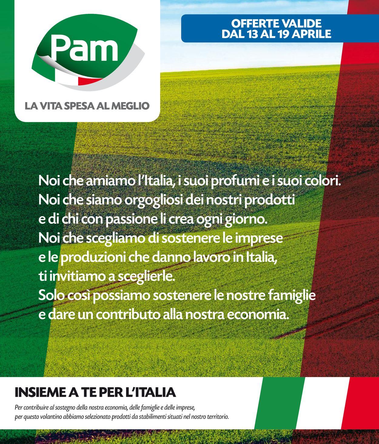 Volantino Pam Panorama - Offerte 13/04-19/04/2020