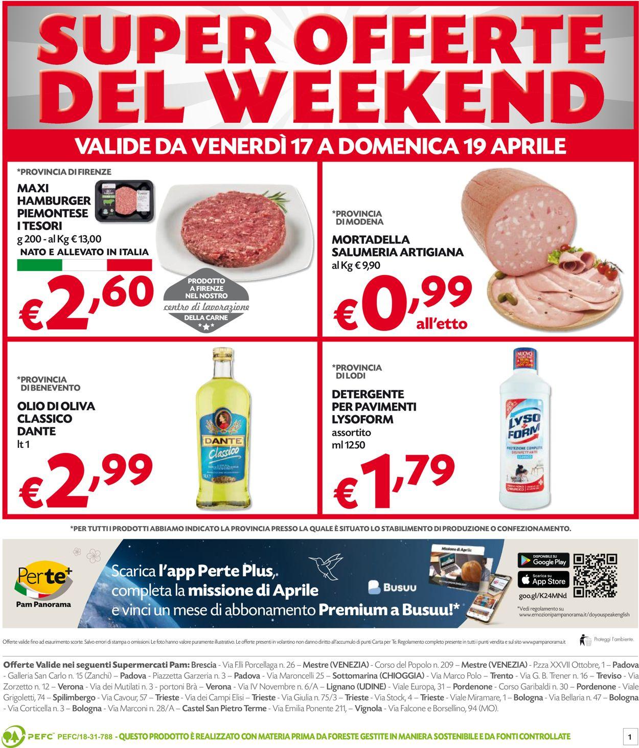 Volantino Pam Panorama - Offerte 13/04-19/04/2020 (Pagina 12)