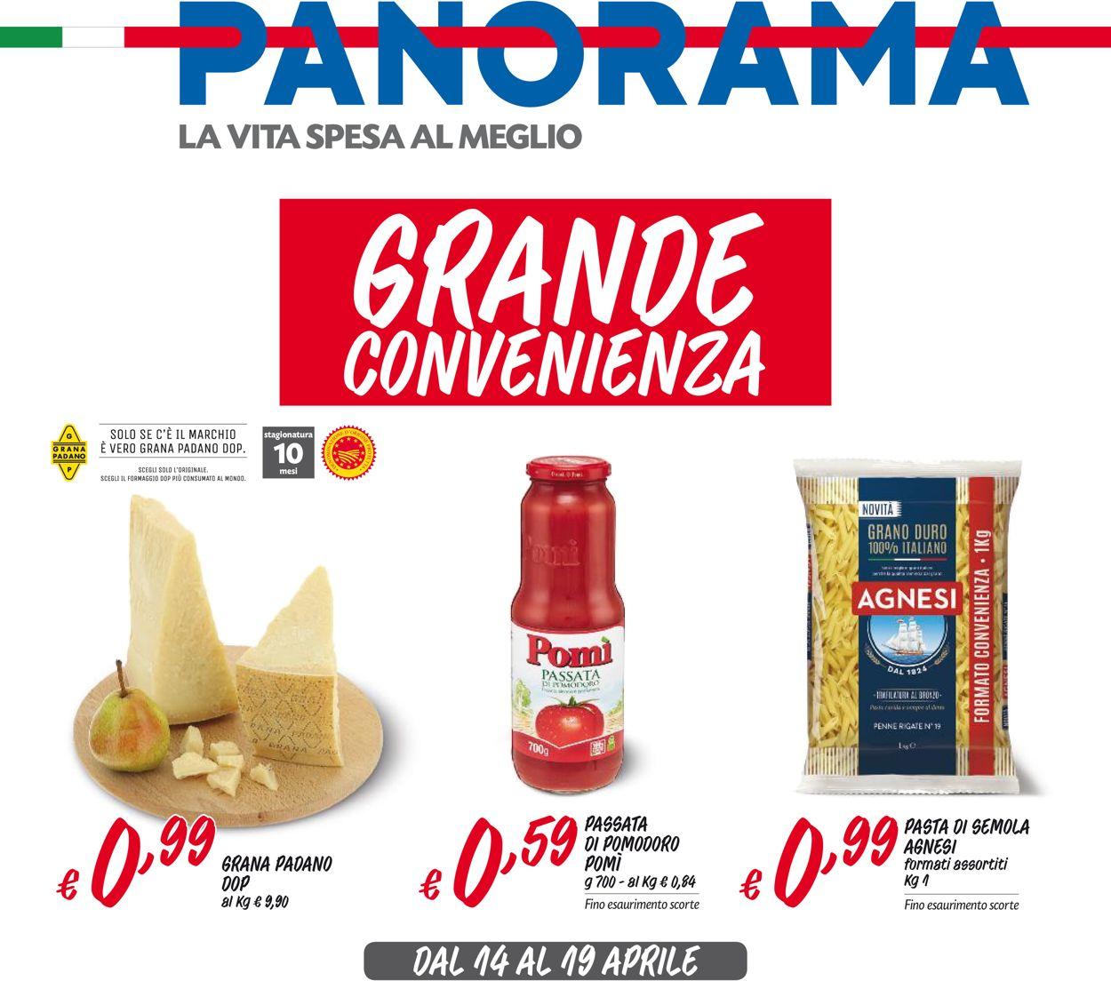 Volantino Pam Panorama - Offerte 14/04-19/04/2020