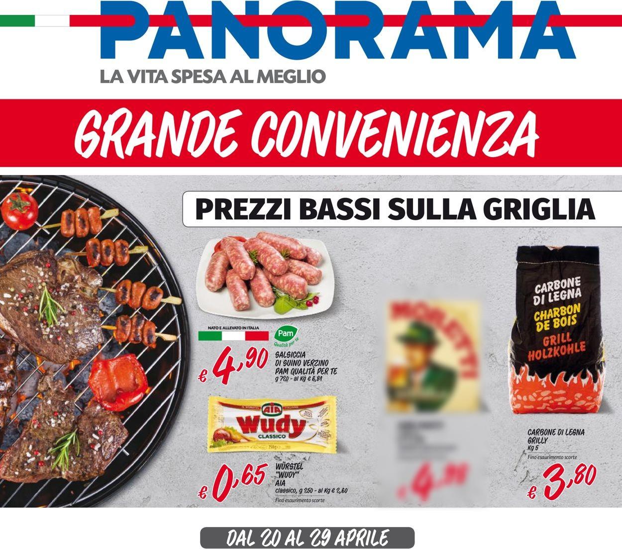 Volantino Pam Panorama - Offerte 20/04-29/04/2020