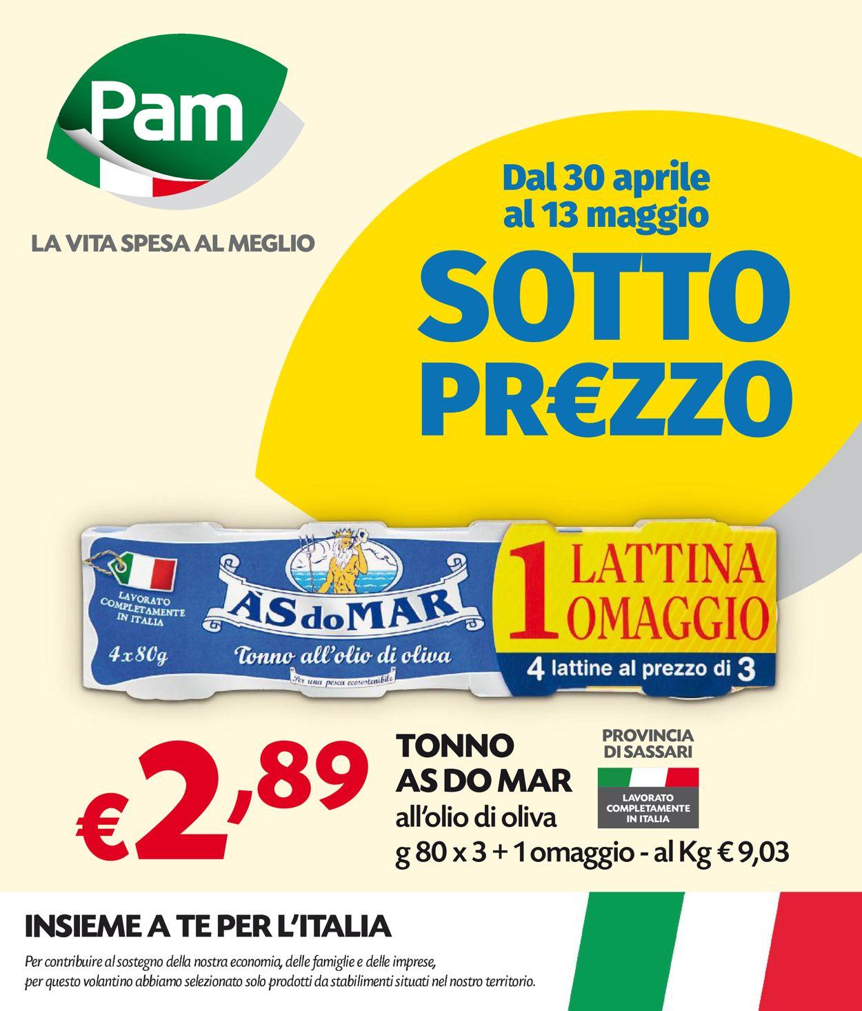 Volantino Pam Panorama - Offerte 30/04-13/05/2020