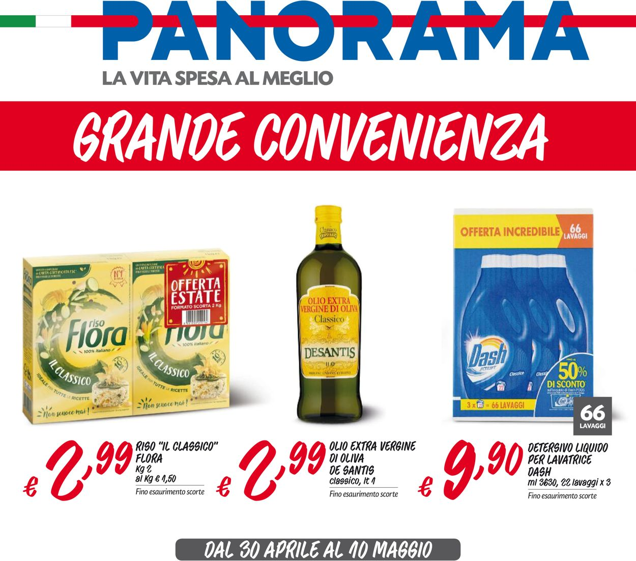Volantino Pam Panorama - Offerte 30/04-10/05/2020