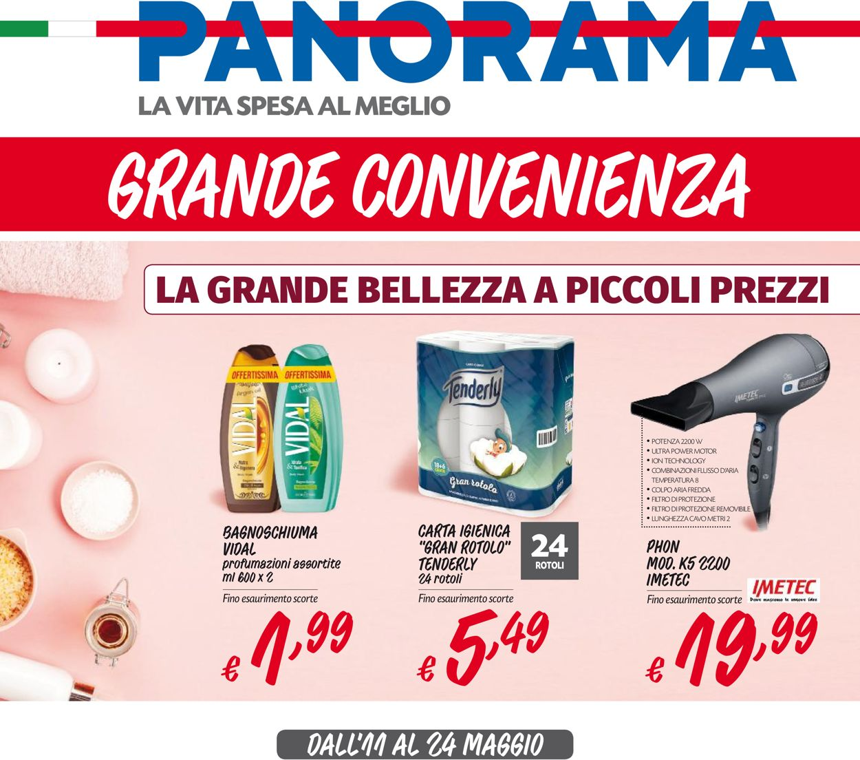 Volantino Pam Panorama - Offerte 11/05-24/05/2020