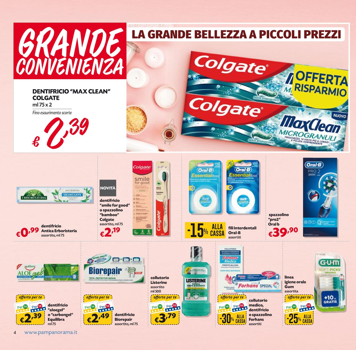 Volantino Pam Panorama - Offerte 11/05-24/05/2020 (Pagina 4)