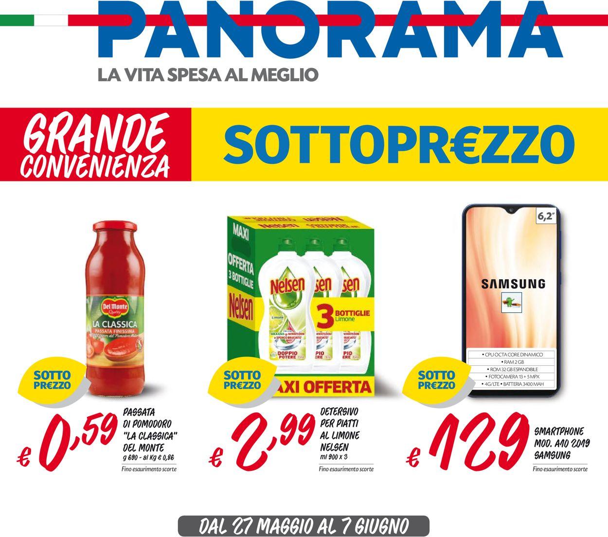 Volantino Pam Panorama - Offerte 27/05-07/06/2020