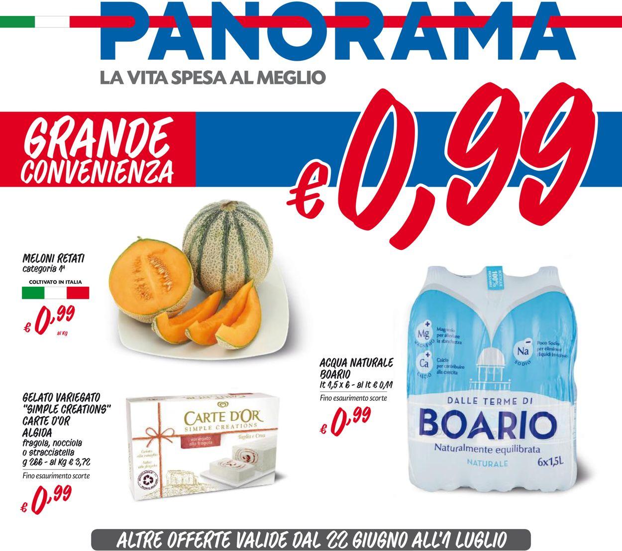 Volantino Pam Panorama - Offerte 22/06-01/07/2020