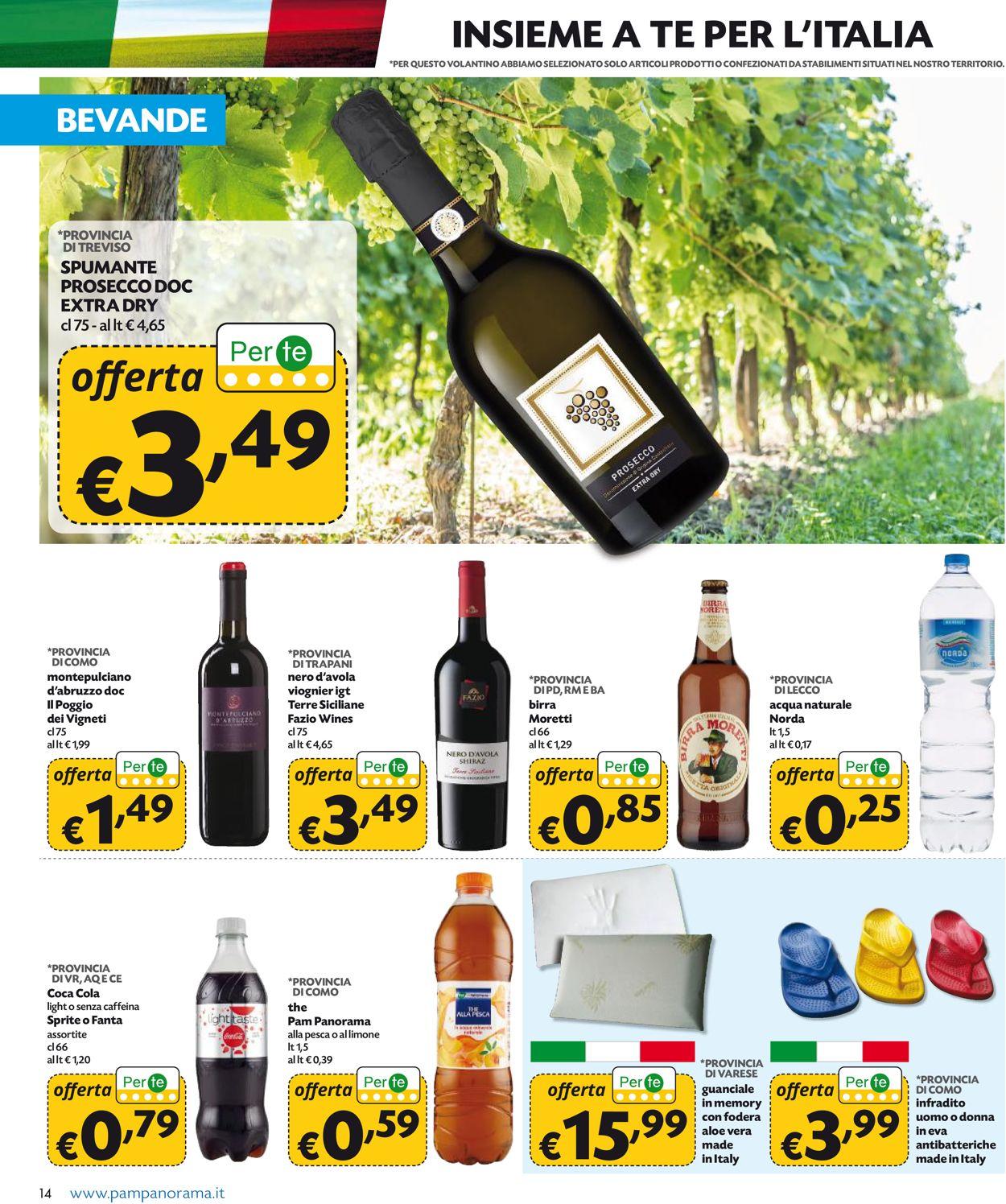 Volantino Pam Panorama - Offerte 25/06-08/07/2020 (Pagina 14)