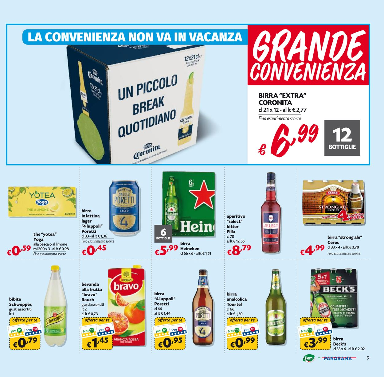 Volantino Pam Panorama - Offerte 02/07-12/07/2020 (Pagina 9)