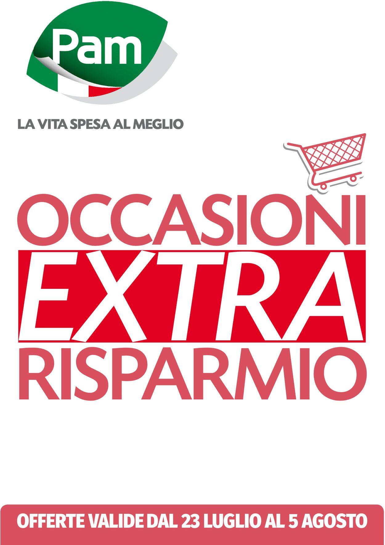 Volantino Pam Panorama - Offerte 23/07-05/08/2020