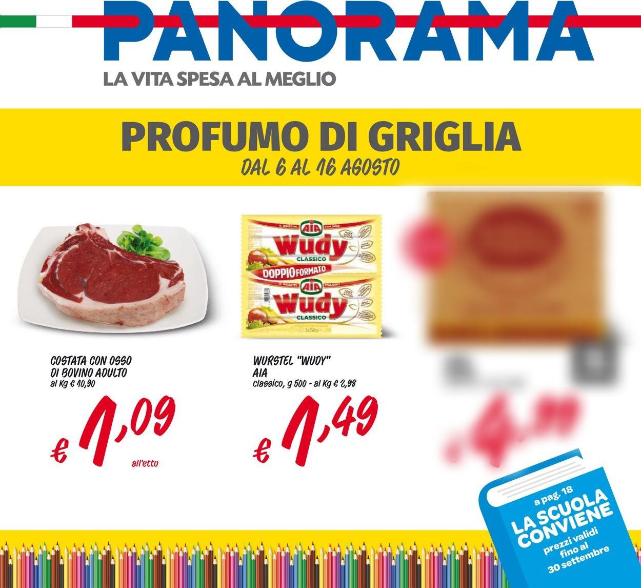 Volantino Pam Panorama - Offerte 06/08-16/08/2020