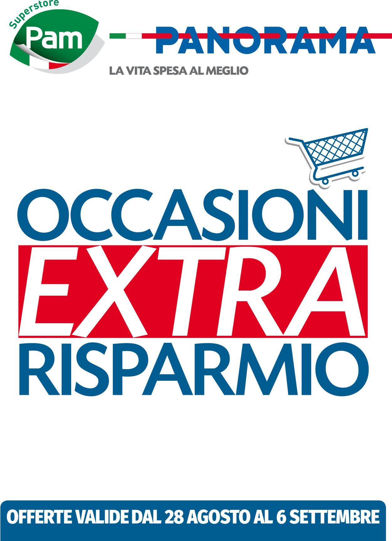 Volantino Pam Panorama - Offerte 28/08-06/09/2020