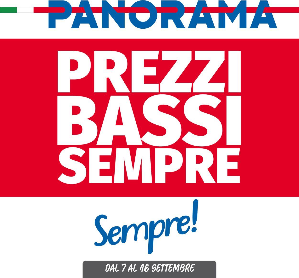 Volantino Pam Panorama - Offerte 07/09-16/09/2020
