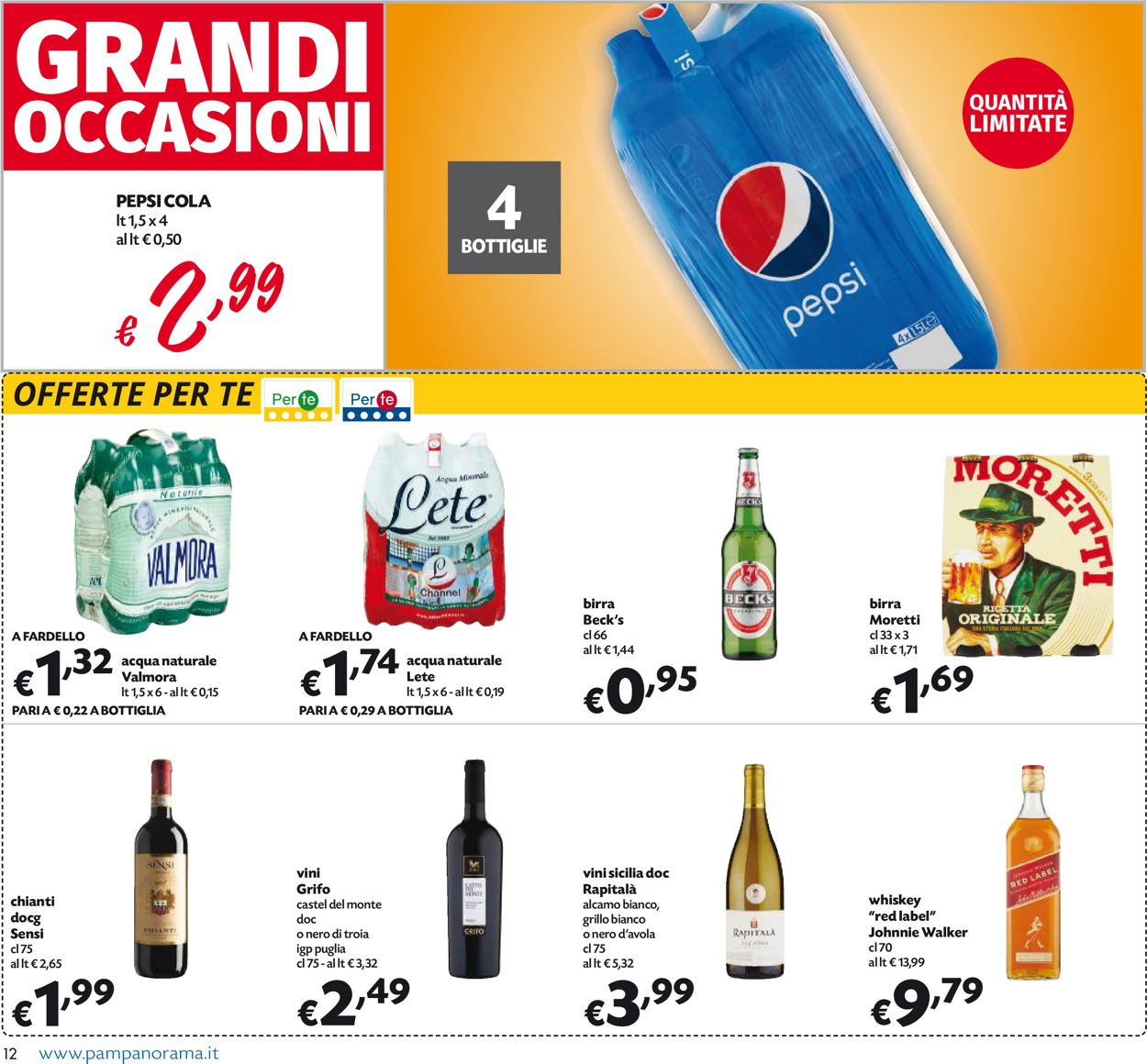 Volantino Pam Panorama - Offerte 29/10-08/11/2020 (Pagina 12)