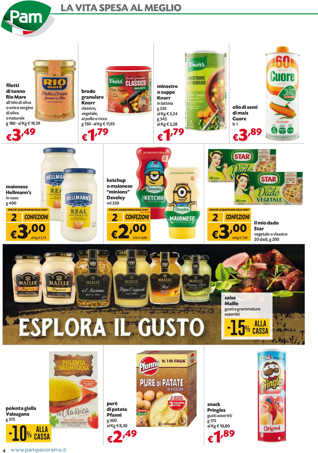 Volantino Pam Panorama - Black Friday 2020 - Offerte 26/11-06/12/2020 (Pagina 4)